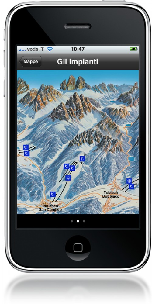 Die Ski-Panoramakarte