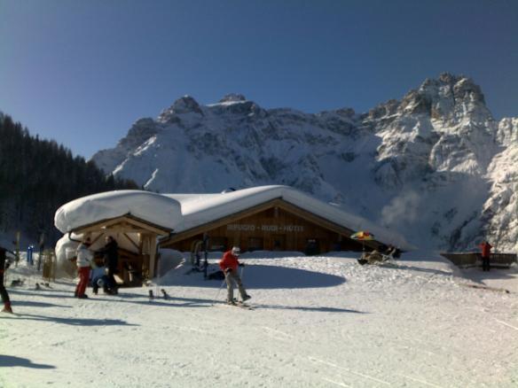 Paesaggio invernale in Alta Pusteria (rifugio Rudi)